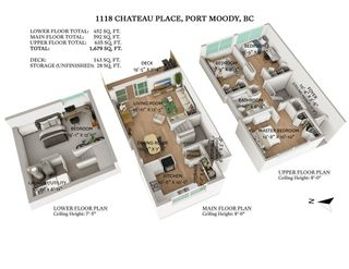 "Photo 30: 1118 CHATEAU Place in Port Moody: College Park PM Townhouse for sale in ""CHATEAU PLACE"" : MLS®# R2572180"