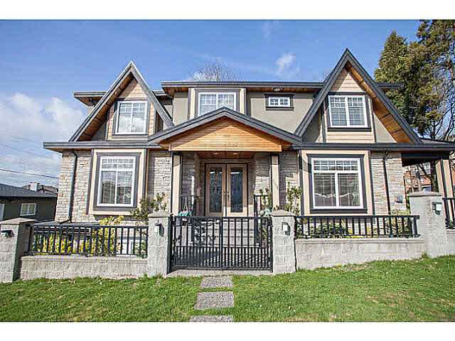 Main Photo: 555 MACDONALD AVENUE in Burnaby: Willingdon Heights House for sale (Burnaby North)  : MLS®# V1062501