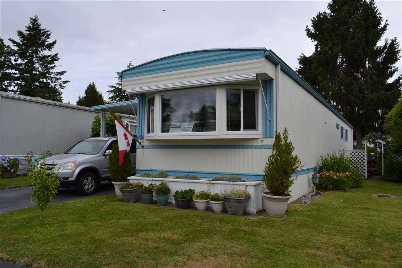 "Main Photo: 196 1840 160 Street in Surrey: King George Corridor Manufactured Home for sale in ""Breakaway Bays"" (South Surrey White Rock)  : MLS®# R2386602"