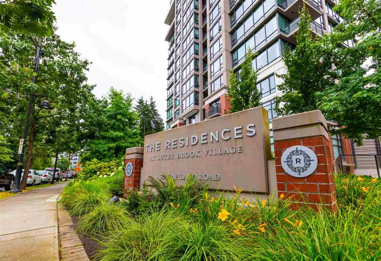 """Main Photo: 608 301 CAPILANO Road in Port Moody: Port Moody Centre Condo for sale in """"Residences at Suterbrook"""" : MLS®# R2484764"""