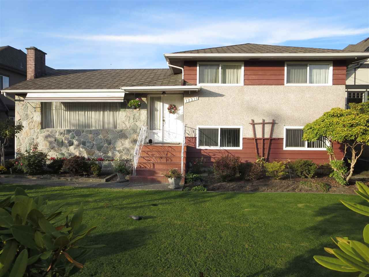 Main Photo: 12371 FLURY Drive in Richmond: East Cambie House for sale : MLS®# R2216798