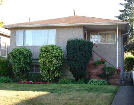 Main Photo: 462 E 30TH Avenue in Vancouver: Fraser VE House for sale (Vancouver East)  : MLS®# V671639