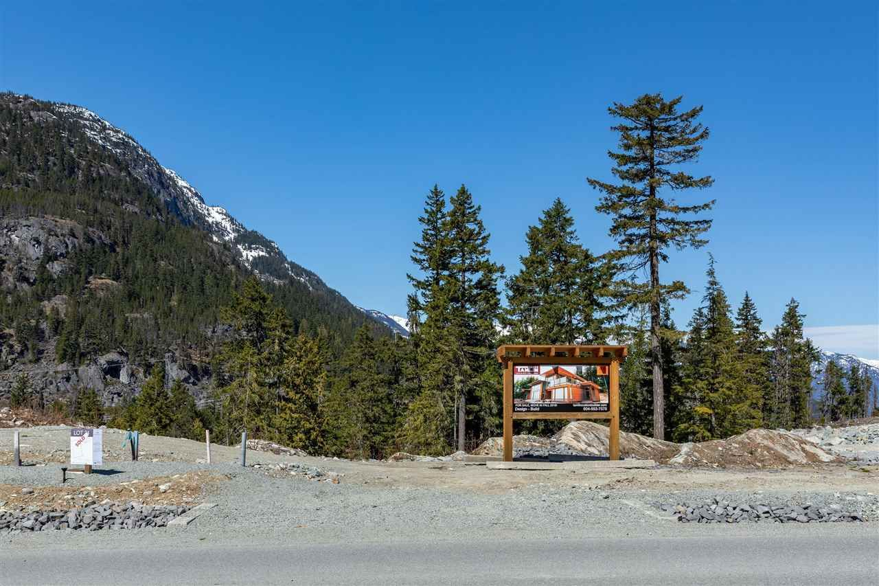 Main Photo: 9257 WEDGEMOUNT PLATEAU Drive in Whistler: WedgeWoods Land for sale : MLS®# R2575809