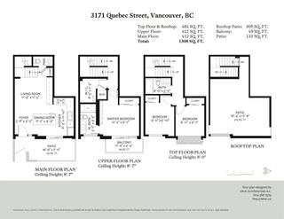 """Photo 20: 3171 QUEBEC Street in Vancouver: Mount Pleasant VE Townhouse for sale in """"Q16 - Quebec/16th"""" (Vancouver East)  : MLS®# R2401940"""