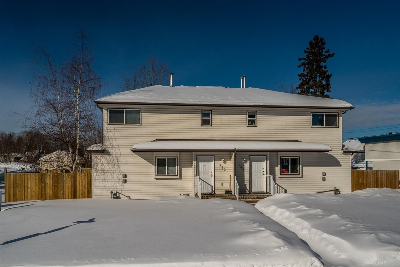 Main Photo: 103 1930 4TH Avenue in Prince George: Crescents Townhouse for sale (PG City Central (Zone 72))  : MLS®# R2341203