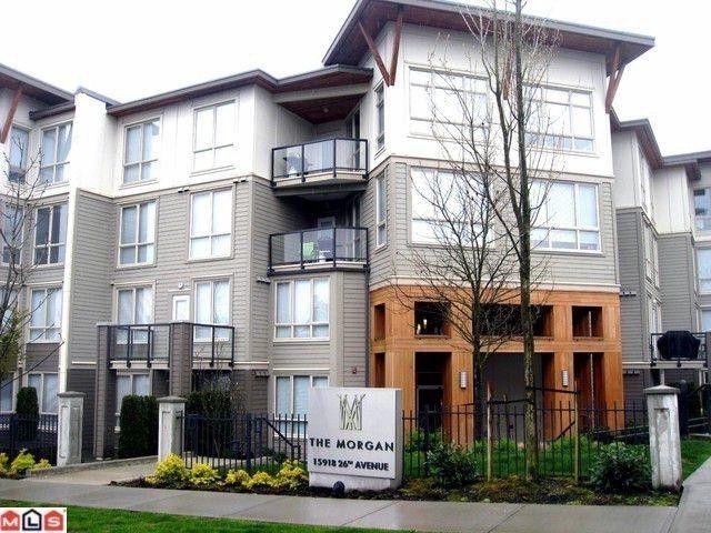 "Main Photo: 129 15918 26TH Avenue in Surrey: Grandview Surrey Condo for sale in ""THE MORGAN"" (South Surrey White Rock)  : MLS®# F1121831"