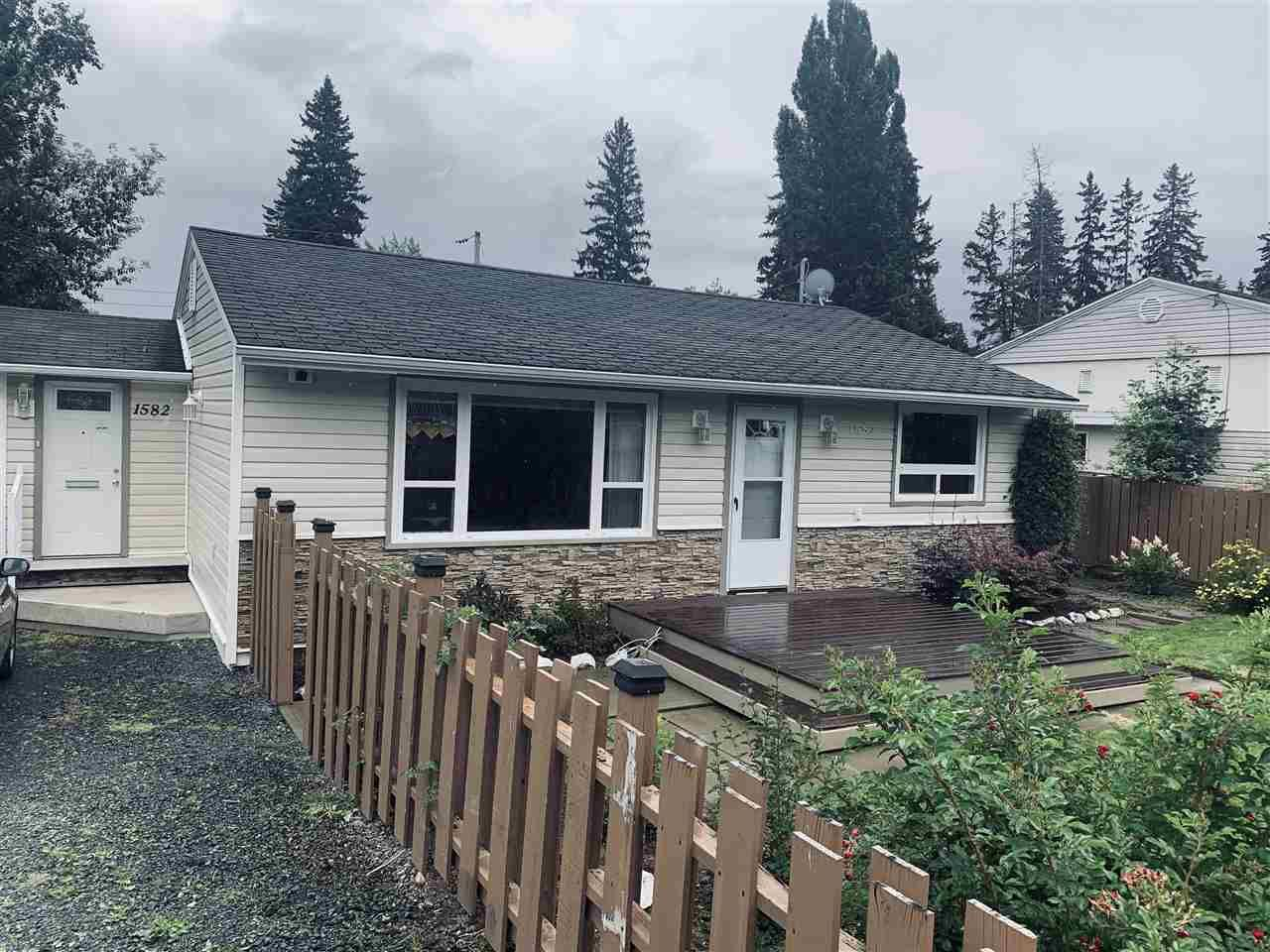 Main Photo: 1582 INGLEDEW Street in Prince George: Millar Addition House for sale (PG City Central (Zone 72))  : MLS®# R2490728