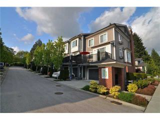"Photo 1: 31 3459 WILKIE Avenue in Coquitlam: Burke Mountain Townhouse for sale in ""TATTON"" : MLS®# V1063429"