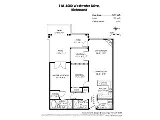"""Photo 20: 118 4500 WESTWATER Drive in Richmond: Steveston South Condo for sale in """"COPPER SKY WEST"""" : MLS®# R2434248"""