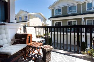 """Photo 9: 25 1130 EWEN Avenue in New Westminster: Queensborough Townhouse for sale in """"GLADSTONE PARK"""" : MLS®# R2192209"""