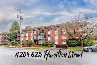 """Main Photo: 209 625 HAMILTON Street in New Westminster: Uptown NW Condo for sale in """"Casa Del Sol"""" : MLS®# R2542610"""