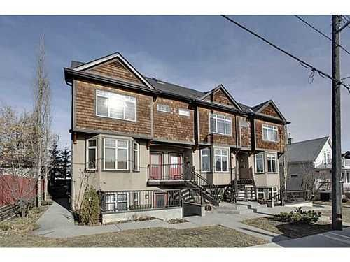 Main Photo: 202 34 Avenue SW in Calgary: 2 and Half Storey for sale : MLS®# C3554793