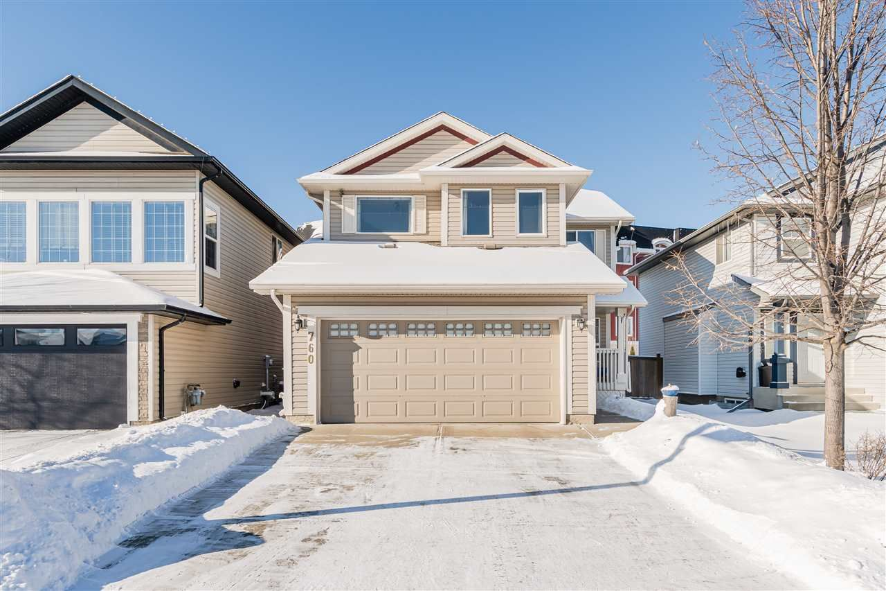 Main Photo: 760 MCALLISTER Loop in Edmonton: Zone 55 House for sale : MLS®# E4228878
