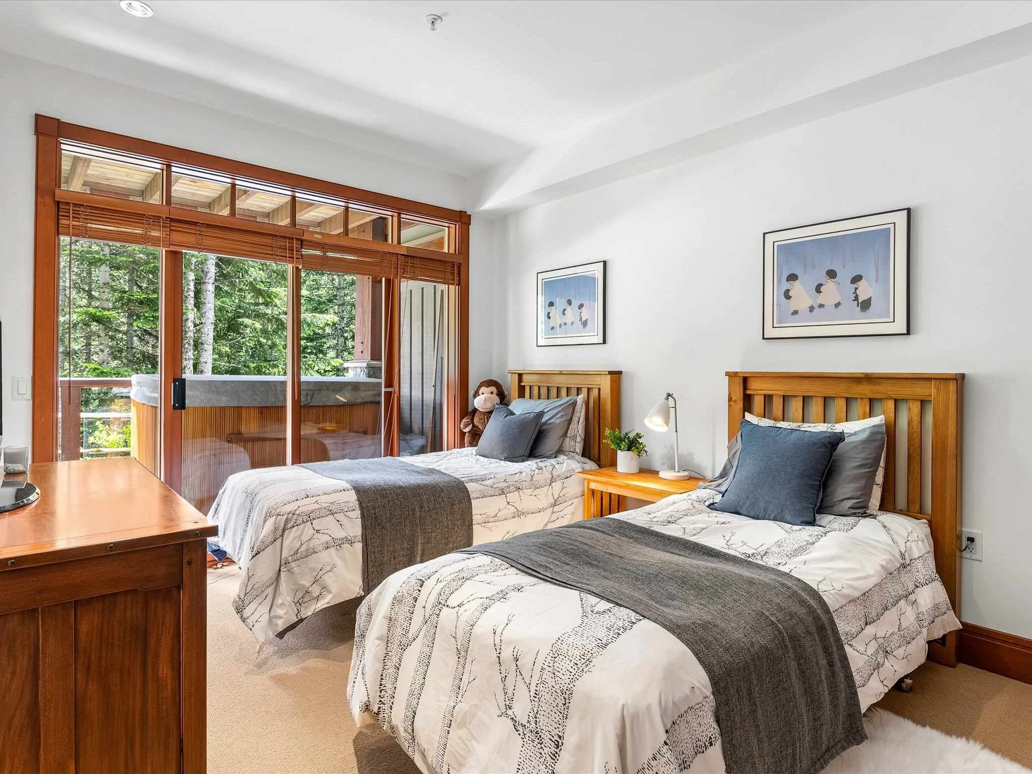 Photo 12: Photos: 4 2500 TALUSWOOD PLACE in Whistler: Nordic Townhouse for sale : MLS®# R2593995