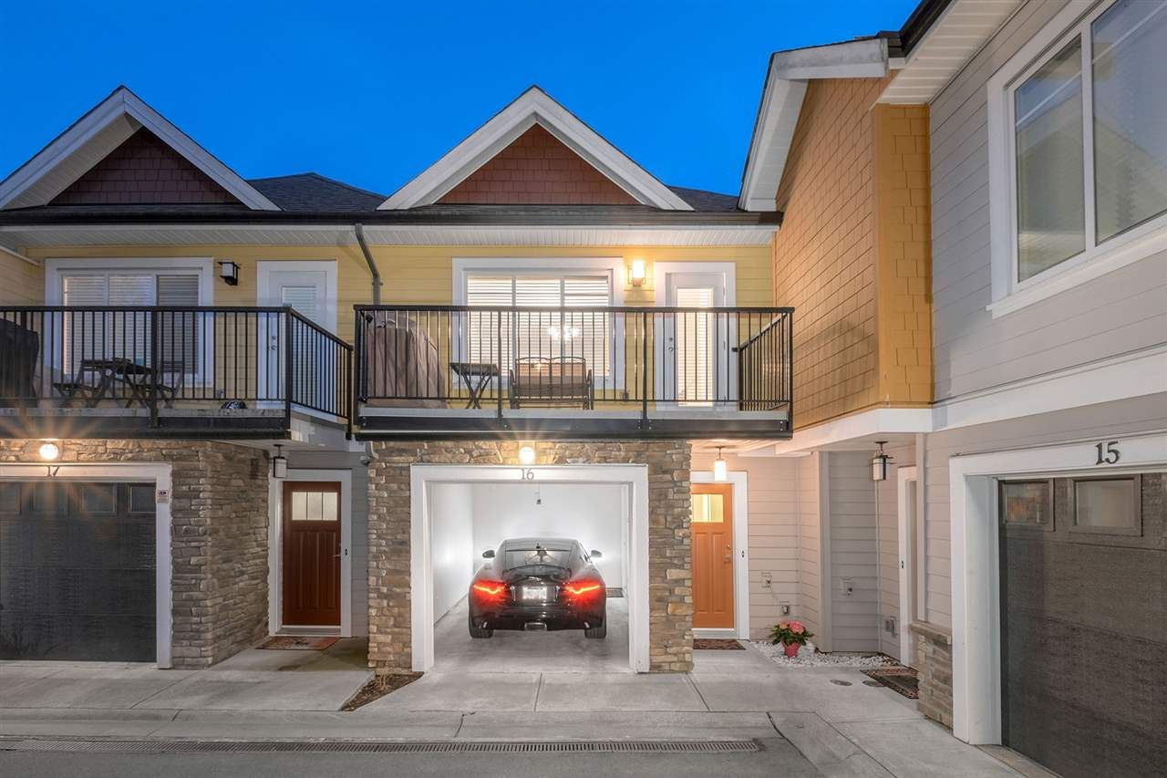 """Main Photo: 16 1219 BURKE MOUNTAIN Street in Coquitlam: Burke Mountain Townhouse for sale in """"REEF"""" : MLS®# R2580442"""