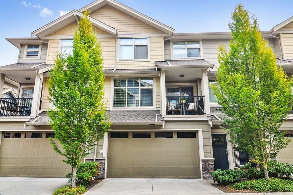 "Main Photo: 38 22225 50 Avenue in Langley: Murrayville Townhouse for sale in ""MURRAY'S LANDING"" : MLS®# R2327006"