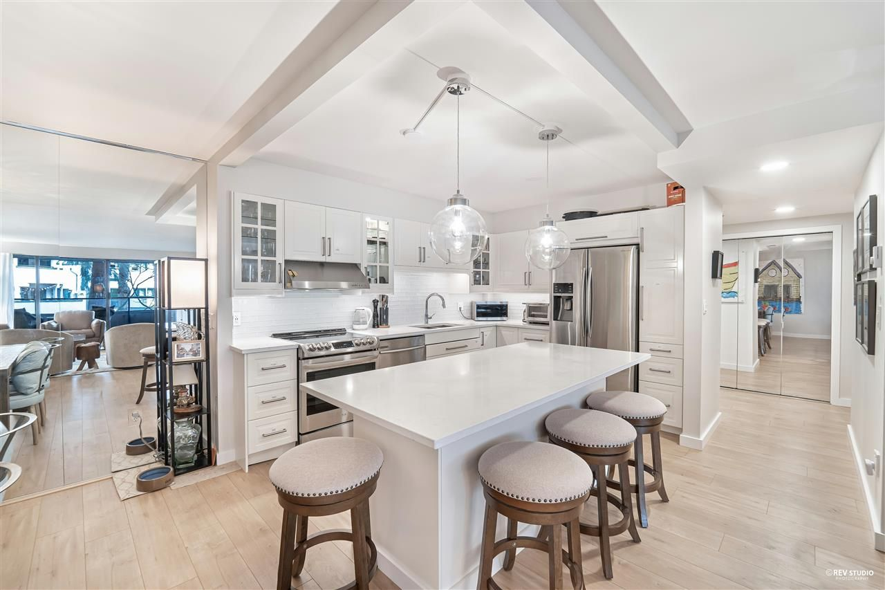 """Main Photo: 36 1425 LAMEY'S MILL Road in Vancouver: False Creek Condo for sale in """"Harbour Terrace"""" (Vancouver West)  : MLS®# R2548532"""