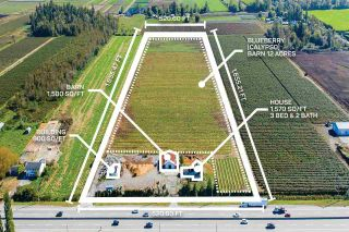 Photo 1: 3386 176 STREET in Cloverdale: Agriculture for sale : MLS®# C8034496