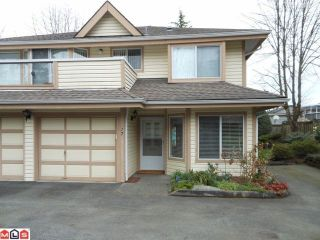 """Photo 1: 17 9971 151ST Street in Surrey: Guildford Townhouse for sale in """"SPENCERS GATE"""" (North Surrey)  : MLS®# F1210468"""