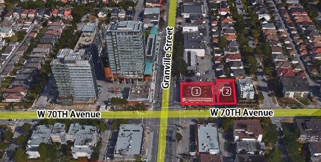 Main Photo: 8570 Granville & 1479 W 70th Avenue in Vancouver: Land Commercial for sale (Vancouver West)