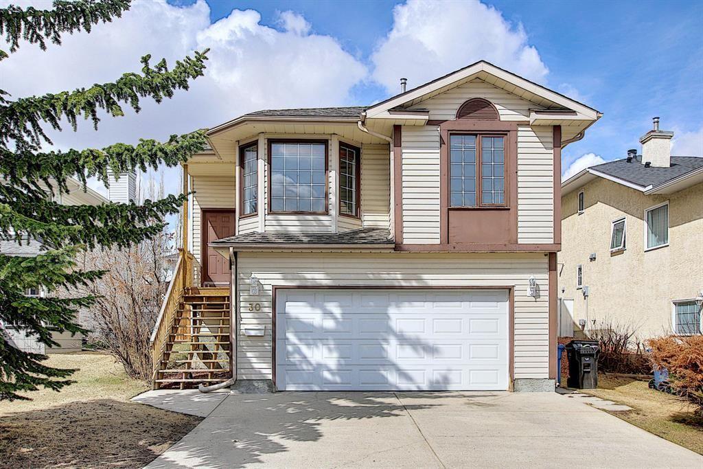 This three level split offers over 1700 sq ft of living space!
