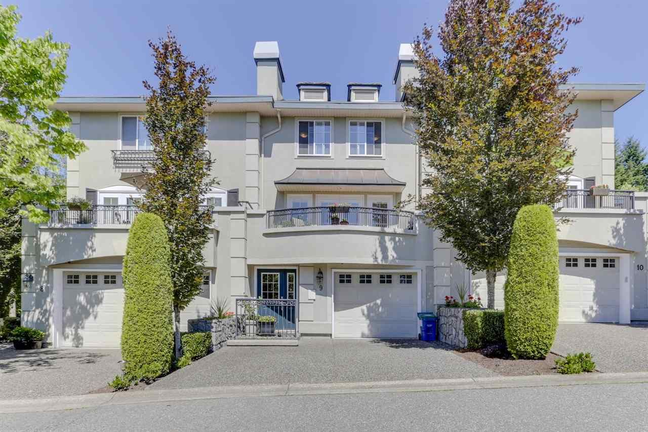 """Main Photo: 9 1651 PARKWAY Boulevard in Coquitlam: Westwood Plateau Townhouse for sale in """"VERDANT CREEK"""" : MLS®# R2478648"""