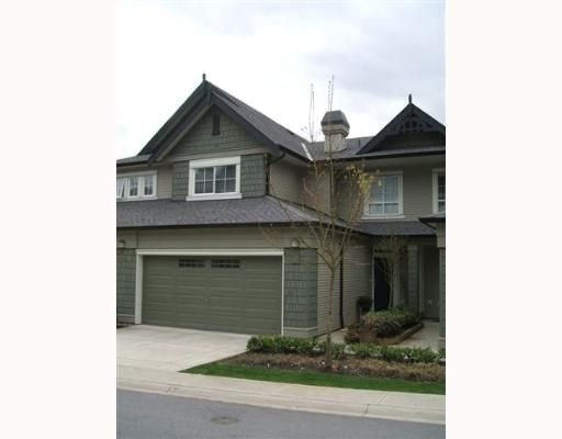 """Main Photo: 3 2978 WHISPER Way in Coquitlam: Westwood Plateau Townhouse for sale in """"WHISPER RIDGE"""" : MLS®# V643247"""