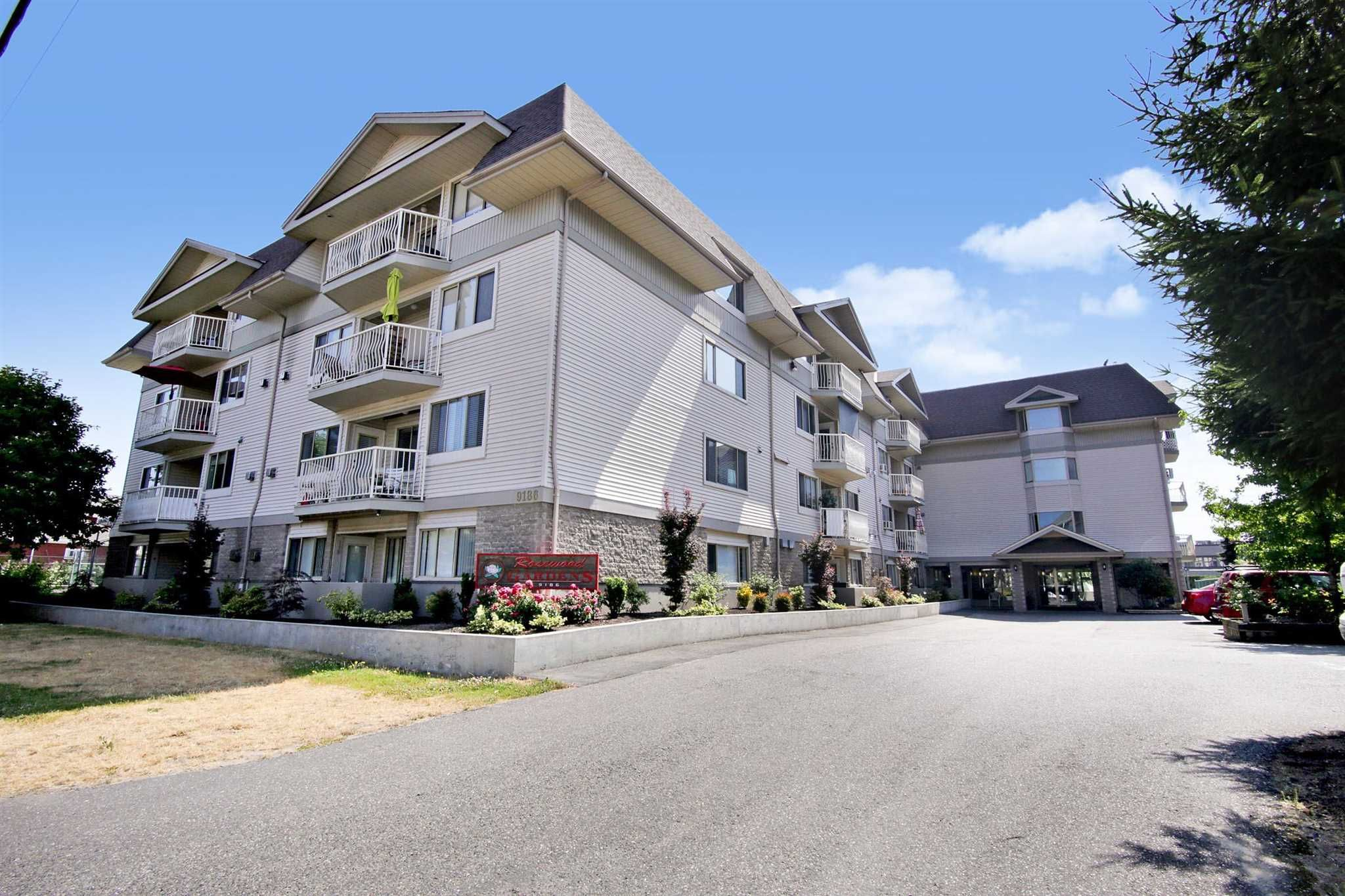 """Main Photo: 311 9186 EDWARD Street in Chilliwack: Chilliwack W Young-Well Condo for sale in """"Rosewood Gardens"""" : MLS®# R2602486"""