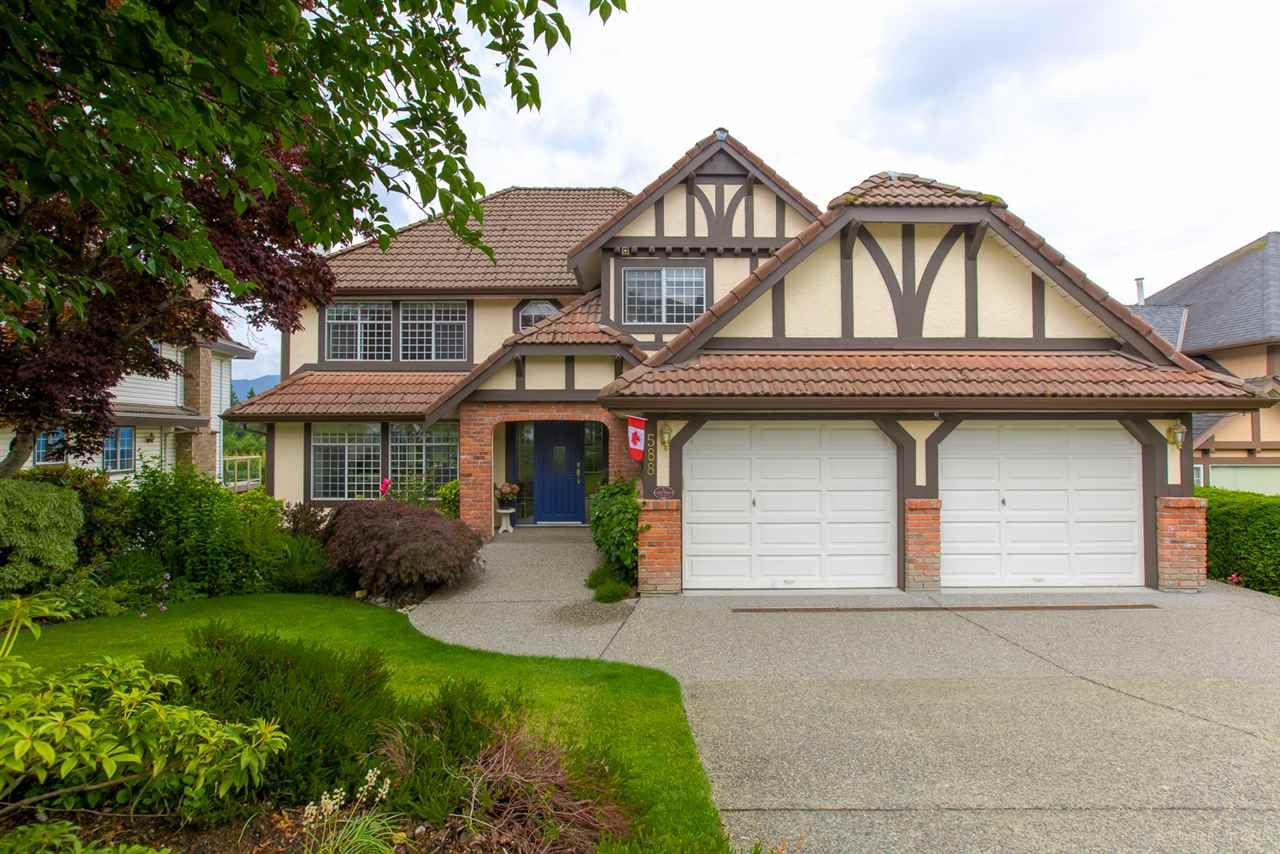 """Main Photo: 588 CLEARWATER Way in Coquitlam: Coquitlam East House for sale in """"RIVER HEIGHTS"""" : MLS®# R2392134"""