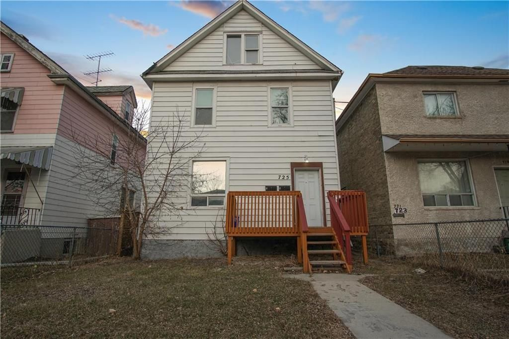 Main Photo: 725 Toronto Street in Winnipeg: West End Residential for sale (5A)  : MLS®# 202108241