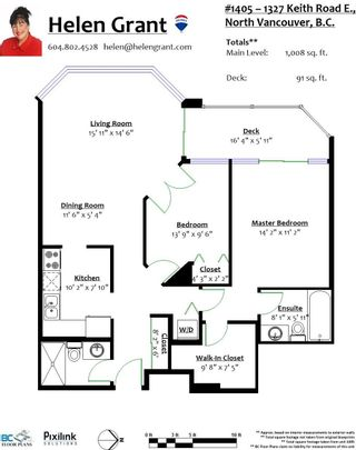 """Photo 21: 1405 1327 E KEITH Road in North Vancouver: Lynnmour Condo for sale in """"CARLTON AT THE CLUB"""" : MLS®# R2625739"""