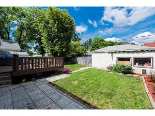 Photo 19: 119 Bank Avenue in WINNIPEG: St Vital Residential for sale (South East Winnipeg)  : MLS®# 1419669