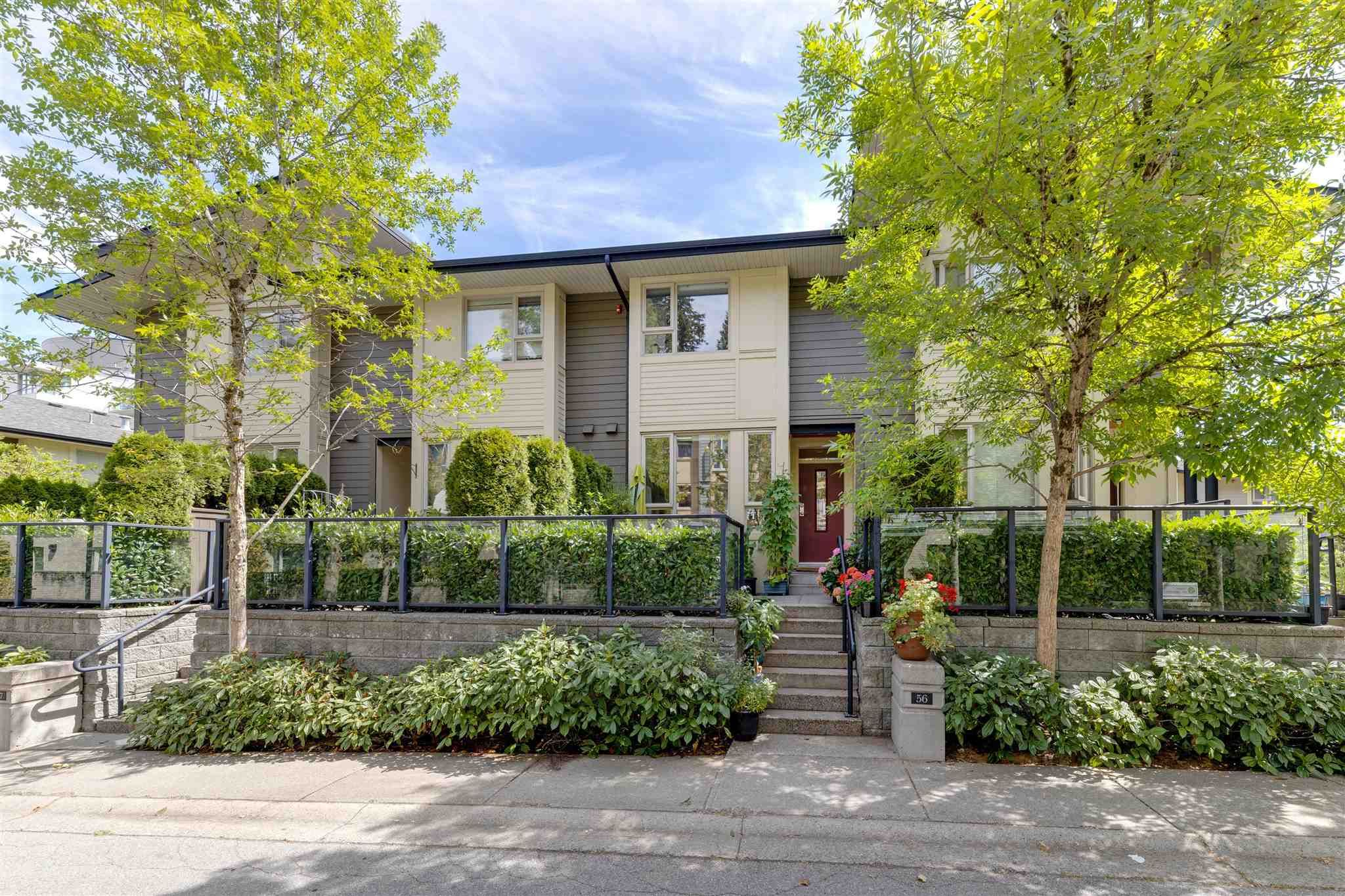 """Main Photo: 56 9229 UNIVERSITY Crescent in Burnaby: Simon Fraser Univer. Townhouse for sale in """"SERENITY"""" (Burnaby North)  : MLS®# R2608041"""