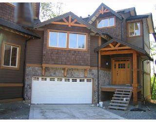 """Photo 1: 47 24185 106B Avenue in Maple_Ridge: Albion 1/2 Duplex for sale in """"TRAILS EDGE"""" (Maple Ridge)  : MLS®# V716794"""