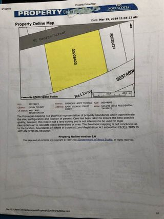Photo 11: Lot Saint George Street in Digby: 401-Digby County Vacant Land for sale (Annapolis Valley)  : MLS®# 201905095
