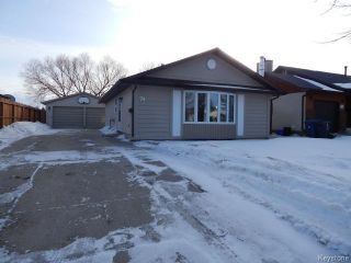 Photo 1: 74 Marianne Road in WINNIPEG: Maples / Tyndall Park Residential for sale (North West Winnipeg)  : MLS®# 1501648