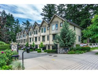 "Photo 1: 527 2580 LANGDON Street in Abbotsford: Abbotsford West Townhouse for sale in ""Brownstones"" : MLS®# R2083525"