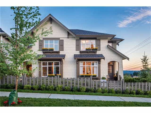 Main Photo: 56 3400 DEVONSHIRE AVENUE in Coquitlam: Burke Mountain Townhouse for sale : MLS®# R2000157