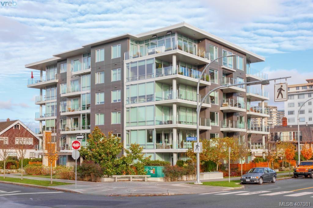 Main Photo: 301 200 Douglas St in VICTORIA: Vi James Bay Condo for sale (Victoria)  : MLS®# 809008
