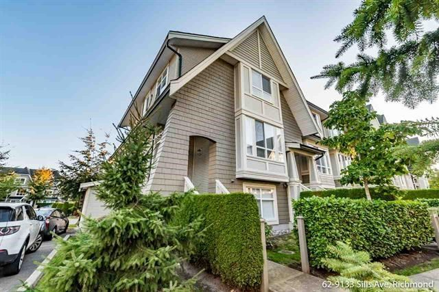 Main Photo: 62 9133 SILLS Avenue in Richmond: McLennan North Townhouse for sale : MLS®# R2218493