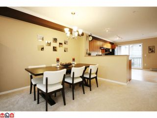 """Photo 4: 4 6747 203RD Street in Langley: Willoughby Heights Townhouse for sale in """"SAGEBROOK"""" : MLS®# F1013962"""