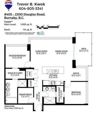 """Photo 19: 405 2200 DOUGLAS Road in Burnaby: Brentwood Park Condo for sale in """"AFFINITY"""" (Burnaby North)  : MLS®# R2134471"""
