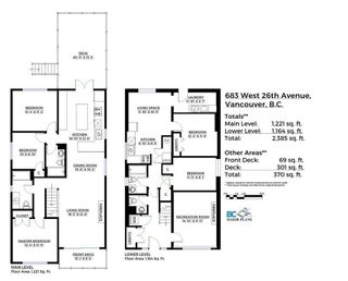 Photo 2: 683 26TH AVENUE in Vancouver West: Cambie Home for sale ()  : MLS®# R2114692