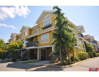 """Photo 1: 66 15233 34TH Avenue in Surrey: Morgan Creek Townhouse for sale in """"SUNDANCE"""" (South Surrey White Rock)  : MLS®# F2914249"""