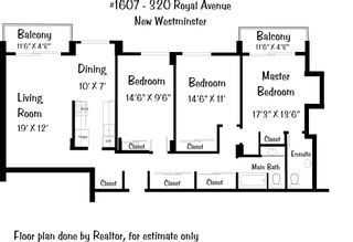 """Photo 3: 1607 320 ROYAL Avenue in New Westminster: Downtown NW Condo for sale in """"THE PEPPERTREE"""" : MLS®# R2573028"""
