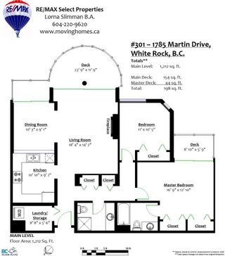 """Photo 28: 301 1785 MARTIN Drive in Surrey: Sunnyside Park Surrey Condo for sale in """"Southwynd"""" (South Surrey White Rock)  : MLS®# R2185400"""