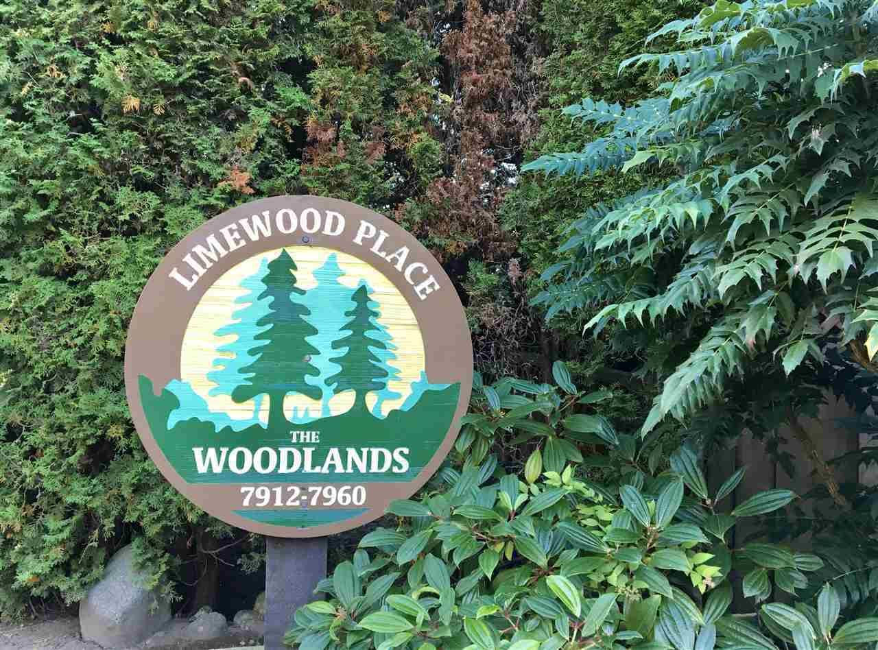 "Main Photo: 7923 LIMEWOOD Place in Vancouver: Champlain Heights Townhouse for sale in ""Woodlands"" (Vancouver East)  : MLS®# R2415009"
