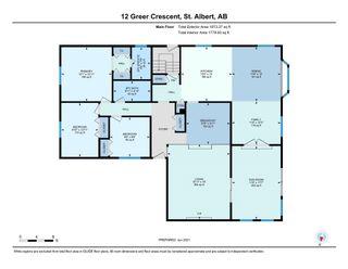 Photo 38: 12 GREER Crescent: St. Albert House for sale : MLS®# E4248514