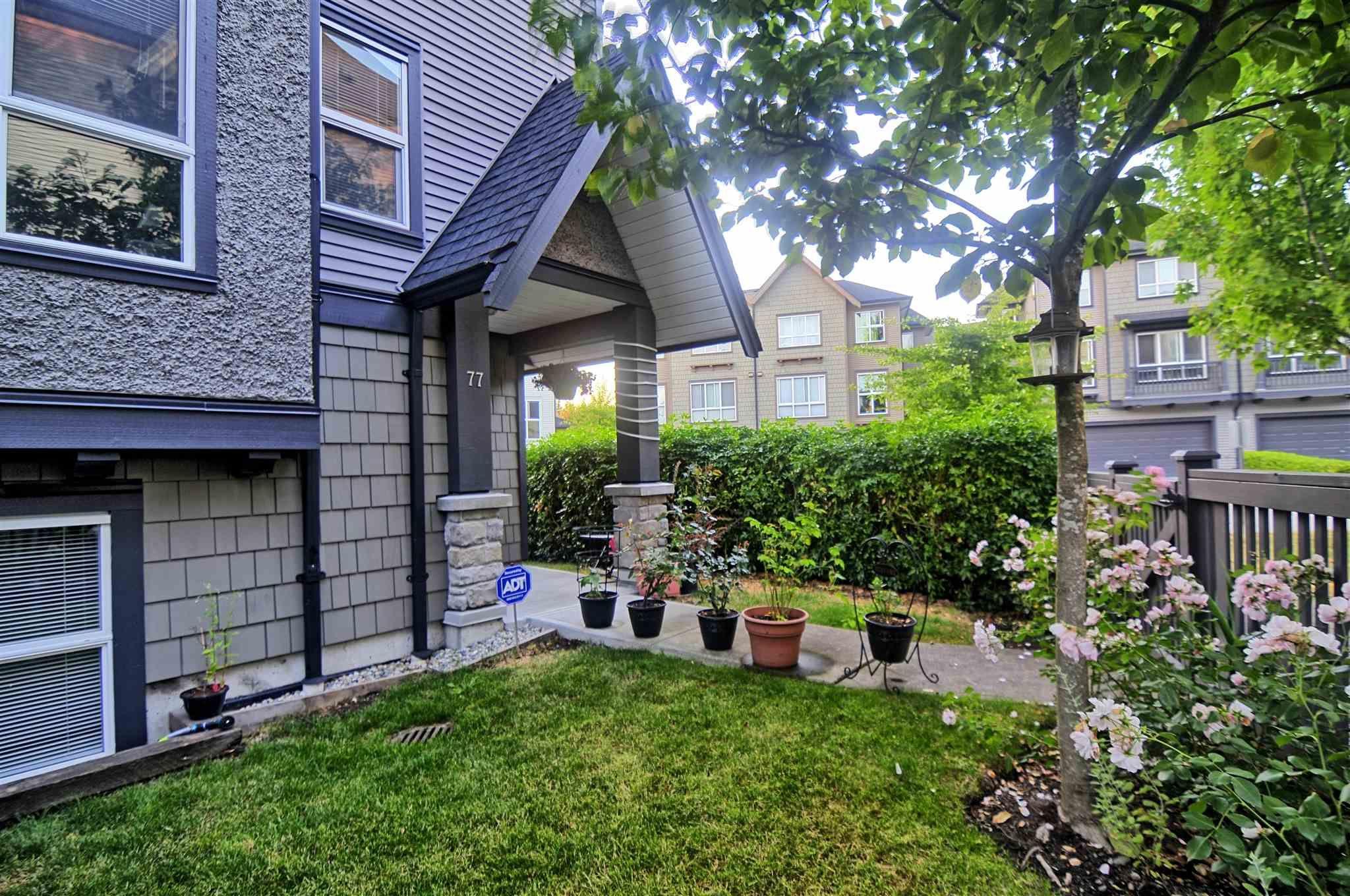 Main Photo: 77 10489 DELSOM Crescent in Delta: Nordel Townhouse for sale (N. Delta)  : MLS®# R2601476