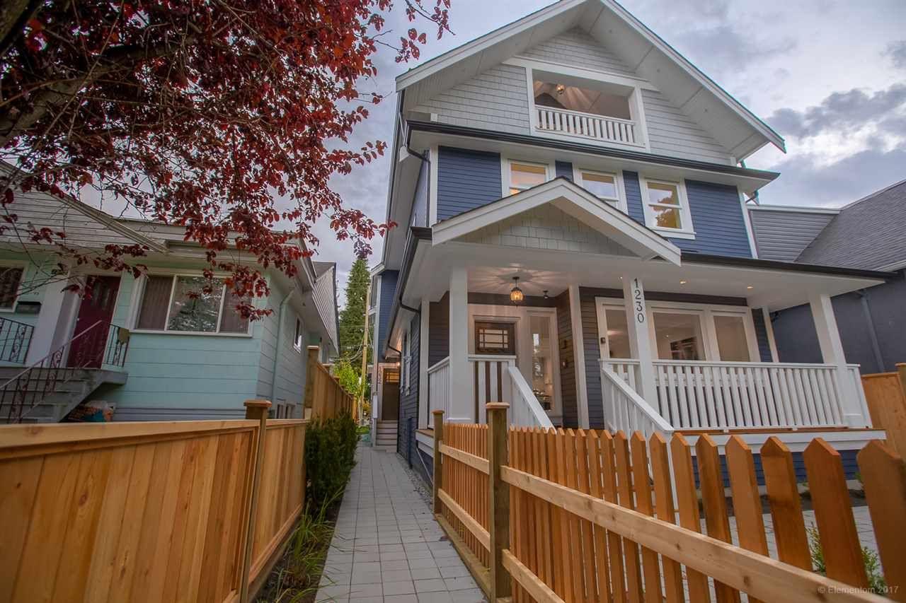 Main Photo: 1232 E 11TH Avenue in Vancouver: Mount Pleasant VE 1/2 Duplex for sale (Vancouver East)  : MLS®# R2246645